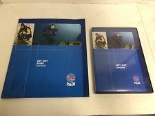 Padi Dry Suit Diver Manual & Dvd 4/2007 - Good Condition
