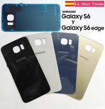 Tapa Trasera Bateria para Samsung Galaxy S6 o S6 Edge ★ Adhesivo ★ G920F G925F