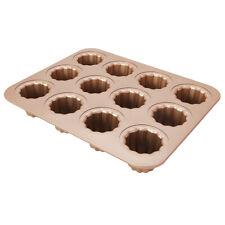 Moule à Cannelé en Acier au Carbone Moule à Pâtissière / Cupcakes /