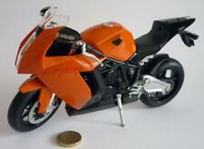 "KTM 1190 RC8 Diecast Motorcycle Bike Model 1:10 8"" Toy Boxed Christmas Present"