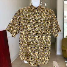MISSONI MARE cotton shirt with short sleeves size XL