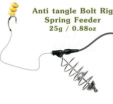 Carp Fishing Spring Feeder 25g/0.88oz, Tube Bait Carp Rig #4, Fishing Tackle