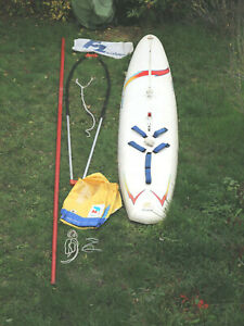 F2 lightning Windsurfboard inkl. Zubehör_auch als SUP_Stand Up Paddle Board