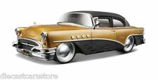 "MAISTO 1955 BUICK CENTURY GOLD/BLACK ""OUTLAWS"" 1/26 DIECAST CAR 32507"