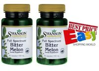 2X Swanson Bitter Melon From *Immune hearth digestive systems