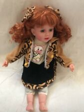 Cathay Collection Doll Red Hair Blue Eyes 662 Of 5000