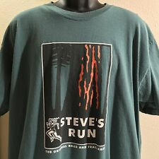 Vintage Steve's Run T-Shirt XL Southwestern Michigan College Road & Trail Race