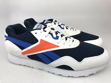 Reebok Rapide MU Sneakers, White / Navy Mens Size 11 NEW