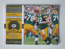 AARON RODGERS  - Playoff Contenders 2011 #71 (Green Bay PACKERS) NFL Playercard