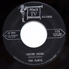 HEAR Furys 45 Never More/Zing Went The Strings MACK IV 112 soul R&B mod doo wop