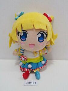 "Pripara 060401 Mirei Minami T-arts Takara Tomy Plush 8"" Toy Doll Japan"