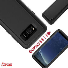 Black Tradesman Hard Heavy Duty Case Cover For Samsung Galaxy S8 / S8 Plus