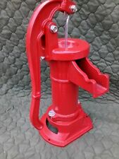 New Antique Style Heavy Duty Red Well Pump Hand Operated Pitcher Pump 25 Ft Lift