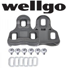 Wellgo RC-7 Keo Look Cleats Road Bike Pedal 6 or 9 deg Float