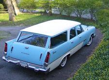 1957 Plymouth Suburban station wagon, Flat flexible Refrigerator Magnet, 40 MIL
