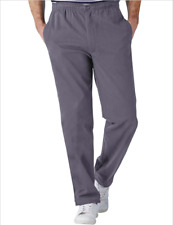 """Pegasus Easy Pull On Cotton Trouser Charcoal (MT040) W34 L27"""""""