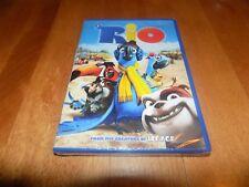 RIO Animated Classic Anne Hathaway Jesse Eisenberg DVD SEALED NEW