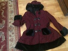 Manteau Gothique femme HELL BUNNY taille 46 comme neuf
