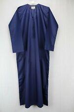 Alkhayr Long Sleeve Blue Robe Gown with Tassel