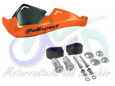 KTM LC4 400 LC4 620 640 Supermoto Polisport Evolution Handprotektoren orange