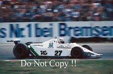 Alan Jones Williams FW07 German Grand Prix 1979 Photograph 3