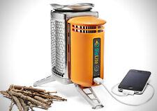 Biolite Camp Stove Wood Burning Backpacking Camping Emergency Cooking USB Port