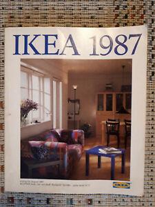 Ikea Katalog von 1987, sehr gut erhalten