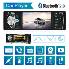 4.inch Single Din Car Stereo Radio MP3 MP5 Player Touch Screen Bluetooth USB