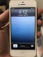 Apple iPhone 5 - 16GB - White & Silver (Sprint) A1429 (CDMA + GSM)