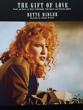 Bette Midler: The Gift Of Love (Piano/Vocal/Guitar Sheet Music) MINT CONDITION!