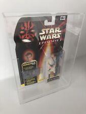 BESPOKE Star Wars Hasbro cardate Figura acrilico vetrina serie vintage con