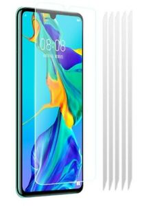 5x Huawei P30 Clear LCD Screen Protector Cover Plastic Film Guards