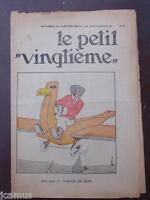 Tintin - Petit Vingtième - n°11 du 16/03/1933  TBE!!