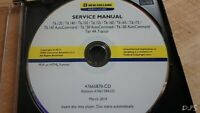 NEW HOLLAND T6.120 THRU T6.175 TIER 4 TRACTOR SERVICE MANUAL CD DN148