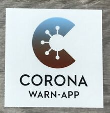 """CORONA WARN-APP"" Bundesiga Match 2020 Soccer Patch"