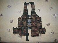 07's series China PLA Desert Digital Camo Combat Tactical Vest,Set.