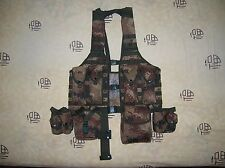 07's series China PLA Desert Digital Camo Combat Tactical Vest,Set.