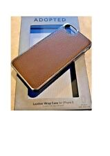 I PHONE 5 ADOPTED Cell  LEATHER WRAP CASE