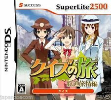 Used DS SuperLite 2500 Quiz no Tabi NINTENDO JAPANESE IMPORT