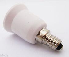 10pcs E14 Male to E27 Female Base LED Light Bulb Adapter Holder Socket Converter
