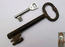 XL 15 cm âge baroque clé porte hohlschlüssel forgé 169 g