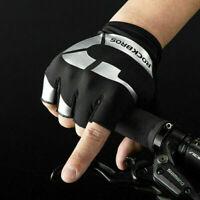 ROCKBROS Bicycle Riding Half-finger Gloves Non-slip Sun Protection Gloves