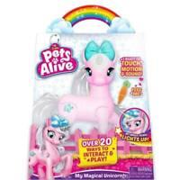 Zuru Pets Alive - My Magical Unicorn KIds Girls Robotic Pet Toy Interactive
