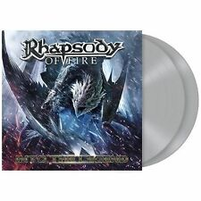 RHAPSODY OF FIRE - INTO THE LEGEND - 2LP SILVER VINYL NEW SEALED 2016