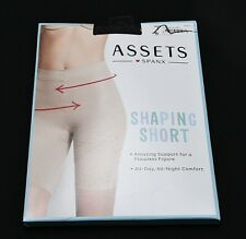 Assets By Spanx 871B - Nude - High Waist Shaping Short All Day Comfort Sz 1  New