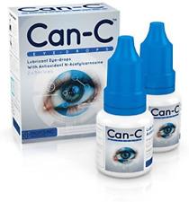 Can C Eye Drops 2 x 5ml Lubricant Eyedrops with Antioxident N Acetylcarnosine