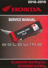 Honda 2018 Gold Wing 1800 Service Manual
