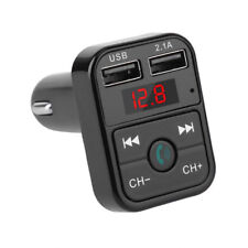 Bluetooth FM Transmitter Car Handsfree Music to Radio TF Micro USB MP3 Player