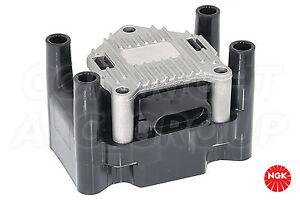 New NGK Ignition Coil For VOLKSWAGEN Passat 2.0 Estate 2000-02