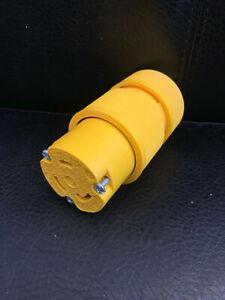 General Electric 20A.250V L6 Locking Female Plug